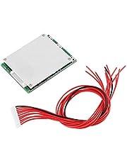 Li-ion batterij BMS-beschermingsbord, 10S PCB's Batterijbeschermingskaart, 36V 35A, met balancering, voor ternaire batterijen Mangaan-batterijen
