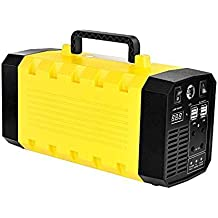 Kinhevao 288WH Portable UPS Battery Backup Generator,with 110V/500W AC Outlet,DC 12V,USB Output,Car Jump Starter for Camping,Home Use Backup Power Supply Charged by Solar/Wall Outlet/Cars