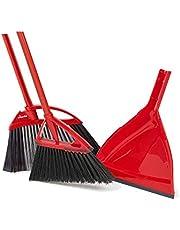 Vileda Oskar Broom with Dustpan and 1 Super Angle Pro Broom
