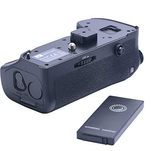 DSTE Pro Wireless Remote Control DMW-BGG9 DMW-BGG9GK Vertical Battery Grip Panasonic Lumix G9 Digital Camera as DMW-BLF19