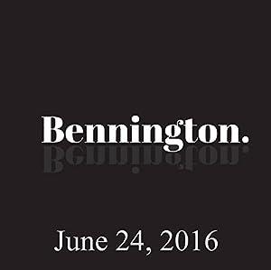 Bennington, Tom Segura, June 24, 2016 Radio/TV Program