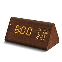 Galopar 目覚まし時計 置き時計 LED 多機能 アラーム デジタル時...
