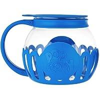 Ecolution Kitchen Extras 1.5-Quart Glass Popcorn Popper -Dishwasher Safe (BLUE)