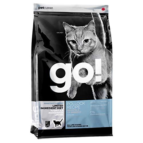 GO  L.I.D. Pollock Cat Food 4lbs