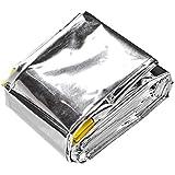 Saco De Dormir De Emergência Em Aluminio 91,5 X 213 Cm -