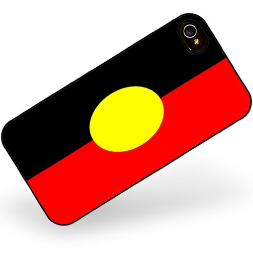 iphone 4 4s Aborigines Flag region: Australia - Neonblond