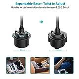 Car Cup Holder Phone Mount, Adjustable Gooseneck