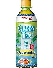 Pokka peppermint green tea,  500 ml  (Pack of 24)