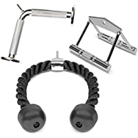 A2ZCARE Combo Tricep Press Down Cable Attachment |...