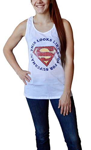 Superman+tank+tops Products : This Looks Like A Job For Superman Logo Womens Tank Top