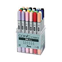 Copic Markers Ciao 24 Piece Basic Marker Set