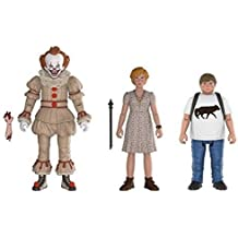 Funko Action Figures: IT Pennywise, Beverly, and Ben (3-Pack)