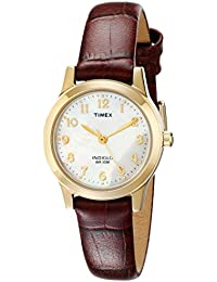 Womens T21693 Essex Avenue Burgundy Croco Pattern Leather Strap Watch