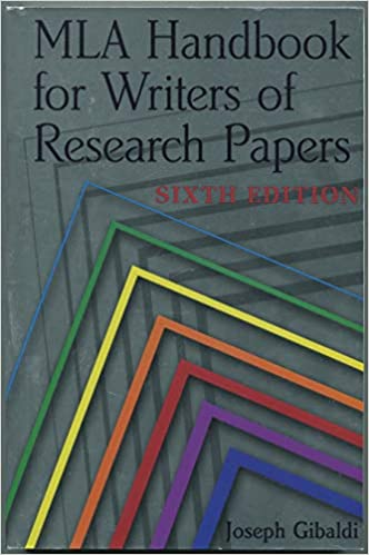 mla handbook for writers of research papers 6th edition a thesis statement is a