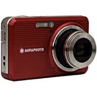 AGFAPHOTO Optima 145 RD 14 MP Digital Camera with 5x Optical Zoom, Red