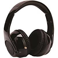 Power Advantage E-00537-3 Dubs Headphone 2 Hybrid High Definition Headphones with 4 Speakers & Phone MIC Switch Cord, Black