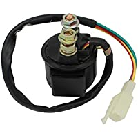 Cyleto Motorcycle Parts Starter Solenoid Relay for...