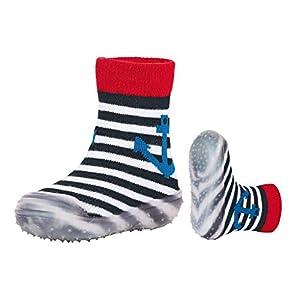 Sterntaler Adventure-Socks Anker, Zapatillas Impermeables para Niños, Azul (Marine 300), 19-20 EU