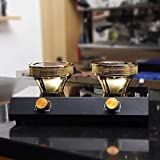 TOPCHANCES 220V Halogen Beam Heater Burner Infrared Heat for Hario Yama Syphon Coffee Maker