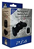 Venom Officially Licensed Rechargeable Battery Pack for Sony Playstation 4 - Power Bank for PS4 Controller / Gamepad - Black