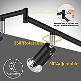 Ascher 6-Light LED Track Lighting Kit, Flexibly