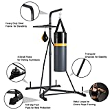 Goplus Punching Bag w/Stand 2 in 1 Hanger Wall
