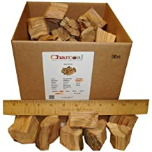 CharcoalStore Peach Wood Smoking Chunks (5 pounds)