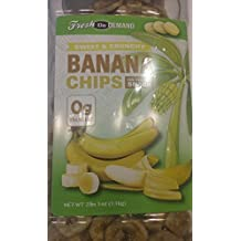 Sweet & Crunchy Banana Chips