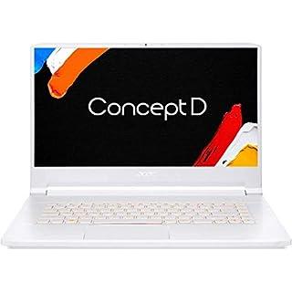 "ConceptD 7 Pro CN715-71P-727W Creator Laptop, Intel i7-9750H, NVIDIA Quadro RTX 3000, NVIDIA RTX Studio, 15.6"" 4K Ultra HD IPS, 100% Adobe RGB, Pantone Validated, Delta E<2, 32GB DDR4, 1TB NVMe SSD"