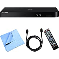 Samsung BD-J6300/ZA 3D Wi-Fi Blu-Ray Player Essential Accessory Bundle includes Blu-ray Player, HDMI Cable and Microfiber Cleaning Cloth