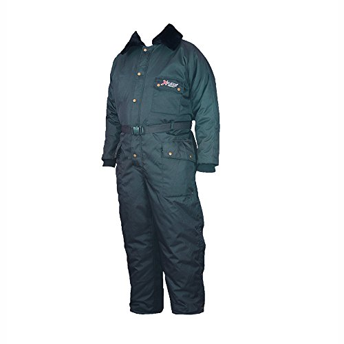 Polar Plus, Freezer Coverall with Pile Collar in Navy, medium