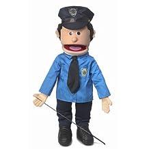 "25"" Caucasian Policeman Full Body Puppet"