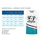SHAJUNQI 3D Casual Basketball Jersey, Conway 96
