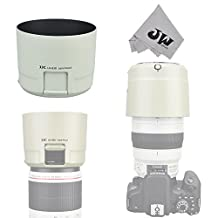 JW LH-83D White Reversible Lens Hood Shade With Filters Adjustment Function For Canon EF 100-400mm f/4.5-5.6L IS II USM Lens replaces Canon ET-83D+JW Cloth