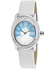 F.Steen Dusk FS4A5 Womens Solid Oval Stylish looking Japan Quartz Analog Watch with Genuine Leather Band