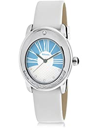 F.Steen Dusk FS4A5 Women's Solid Oval Stylish looking Japan Quartz Analog Watch with Genuine Leather Band