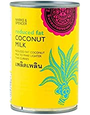 Marks & Spencer Reduced Fat Coconut Milk 400ml (Pack of 2)