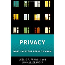Privacy: What Everyone Needs to KnowRG