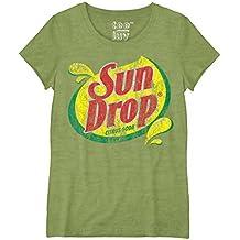 Sun Drop Citrus Soda Logo Juniors T-shirt