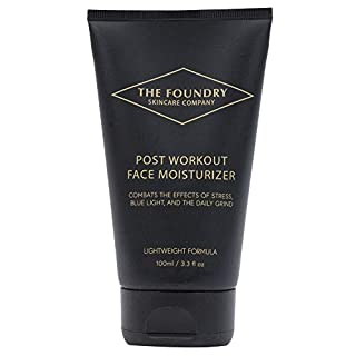 Mens Maximum Hydration Post Workout Face Moisturizer for All Skin Types, Formulated for Anti-Blue Light and Anti-Aging Protection, 3.3 Fl. Oz.