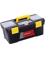 LQKYWNA Tool Opbergdoos, 11 Inch 13 Inch 14 Inch 15 Inch Draagbare Huishoudelijke Multifunctionele Onderhoud Tool Box Auto Supplies Opbergdoos