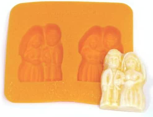 Bride and Groom Flexible Mold