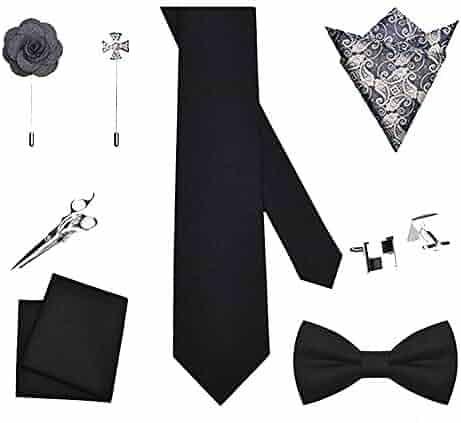 d4eab353361b HUIFA Tie Wool Black Tie Bow Tie Men's Formal Business Valentine's Day  Birthday Gift to Send