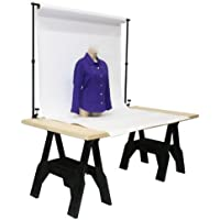 StudioFX Adjustable Tabletop Background Support Stand Product Photography 72 x 48 inches by Kaezi