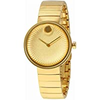 Movado Edge Yellow Gold Aluminum Dial Women's Watch