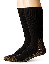 Carhartt Men's Full Cushion Steel-Toe Synthetic Work Boot Sock 2-Pack