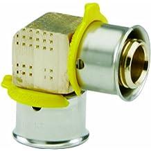 Viega 93540 PureFlow Zero Lead Bronze PEX Press Elbow with 3/4-Inch Press x Press, 10-Pack