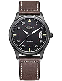 Brand Luxury Japanese Miyota 8215 Men Automatic Mechanical Watches with Sapphire Glass Crystal Leather Strap Luminous...