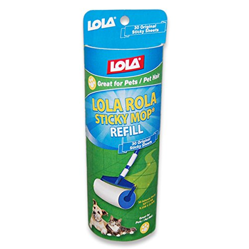 Lola Products 903 Rola Sticky Mop Refill, 6-Crew