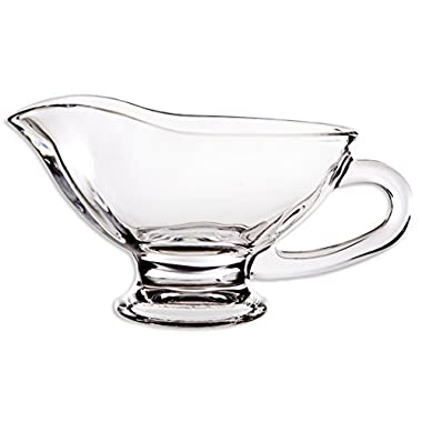 Home Essentials Tablesetter 10oz Glass Gravy Boat